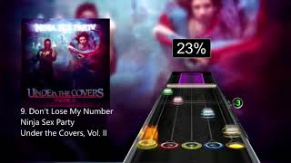 Don't Lose My Number (Ninja Sex Party ) CHART PREVIEW for Clone Hero/GH3PC+