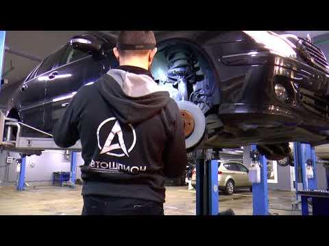 И снова W203 Mercedes Benz C180K подготовка после подбора  Замена термостата, обслуживание тормозов