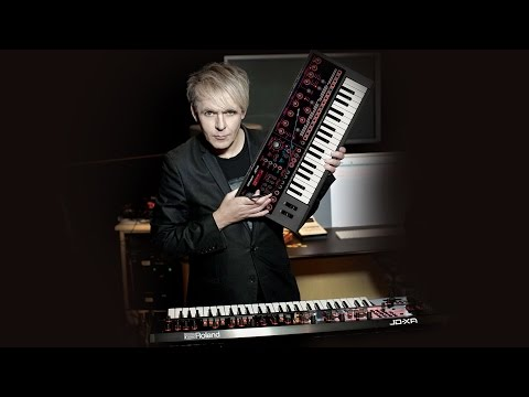 Duran Duran's Nick Rhodes and the Roland JD-XA synths used on the Paper Gods world tour