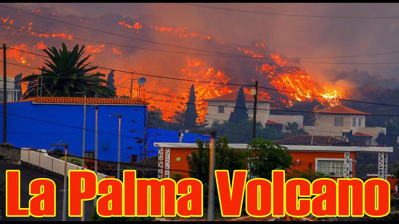 Dramatic Videos Show La Palma Volcano Erupting in Spain's ...