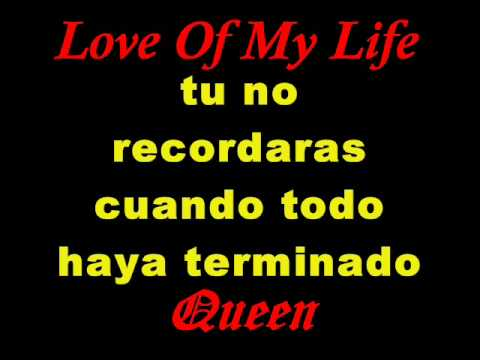 Love of my life queen subtitulada en español