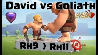 [365] RH9 auf Rh11 in Legende   RH9 knappe und Loot Fights   Clash of Clans Deutsch COC