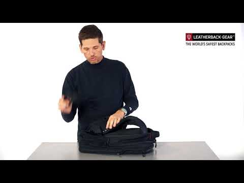 How to setup and wear your Leatherback Gear Backpack - tutorial