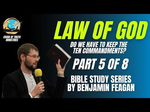 PILLARS OF THE FAITH | Is God's law still binding on humanity?