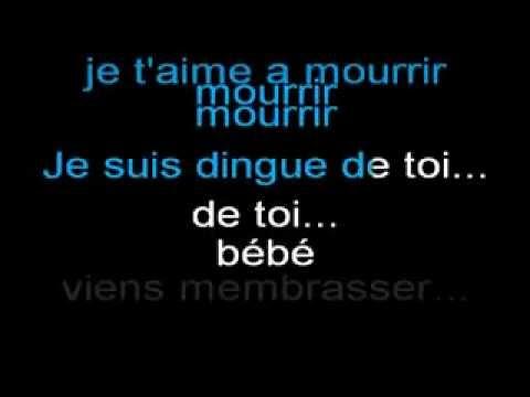 Dingue de toi ''vocal karaoke by JAD''