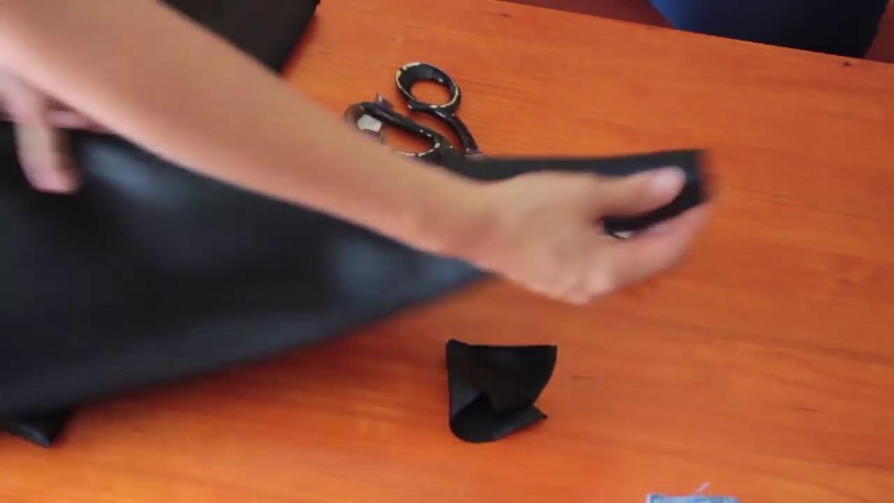 Tutorial Disfraz De El Zorro Capa 1 Parte Youtube