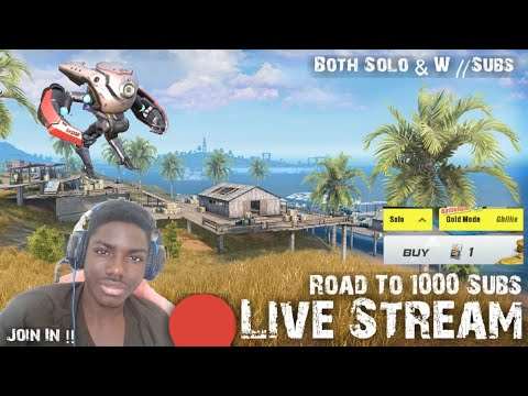 🔴Rules Of Survival Stream // Gold Mode// W Subs & Support Droid