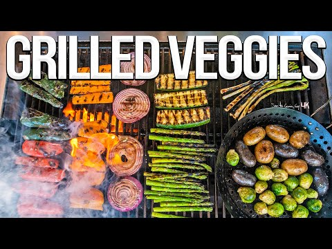 The Best Grilled Vegetables EVER!   SAM THE COOKING GUY 4K