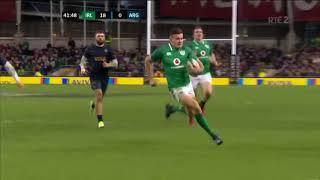 Ireland 28 Argentina 19: Autumn/November internationals 2017 Highlights