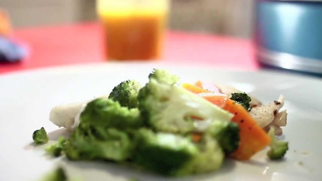 Pescado y verduras al vapor cocina tu refri 90 steamed for Cocinar zanahorias al vapor