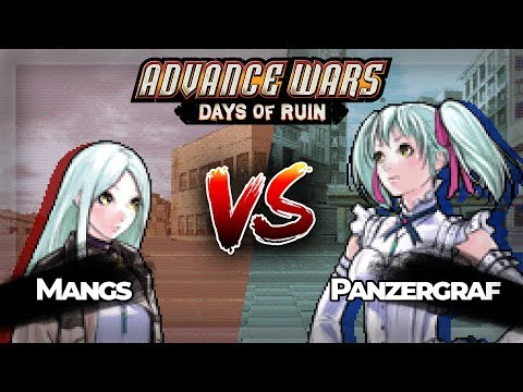 Advance Wars Days of Ruin PvP: Isabella vs Tabitha