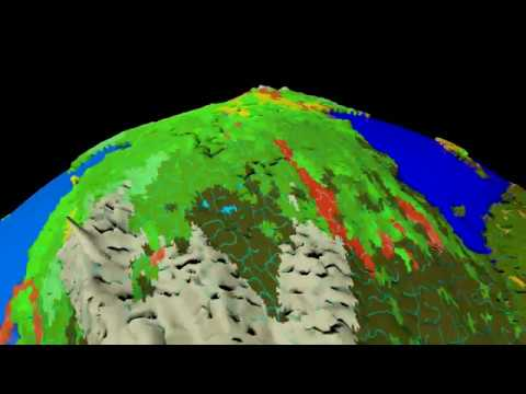 Dwarf Fortress World Map Warrped In 3d Elevation Map Df Dwarf