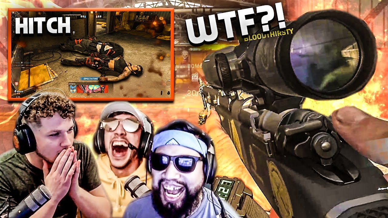 Our FIRST stream back was HILARIOUS!! WE PLAYED INSANE!! - Modern Warfare