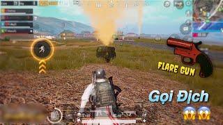 PUBG Mobile | Giao Lưu Cộng Đồng - 4 Khẩu Flare Gun || Địch Đến Đông Như Quân Nguyên 😂