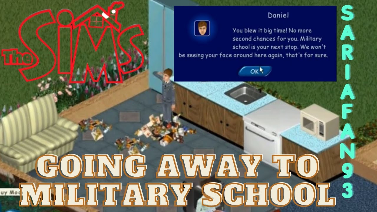 the sims 1 military school youtube. Black Bedroom Furniture Sets. Home Design Ideas
