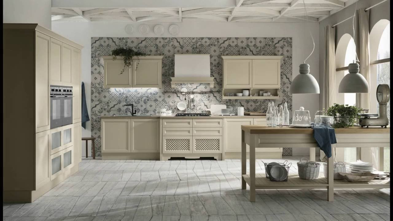 Harmony Shabby - Cucine classiche by Cucinesse - YouTube