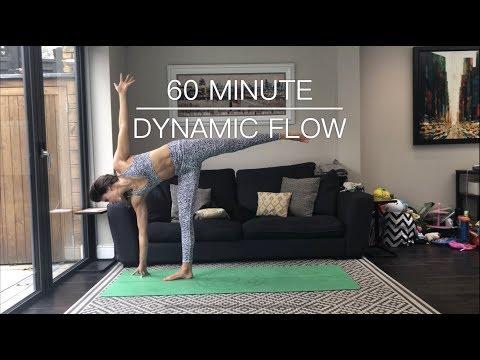 60 MINUTE DYNAMIC FLOW | Strength Through Yoga | YOGA GIRL LONDON