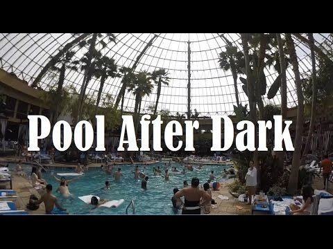 Weekend in Atlantic City - Pool After Dark (Harrah's Resort)
