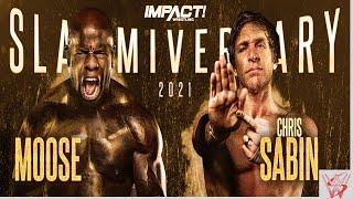 IMPACT Wrestling Chris Sabin vs. Moose!!