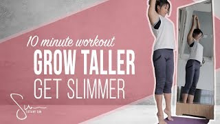 How I Got Taller and Slimmer with Stretching | 10 Minute Workout screenshot 5
