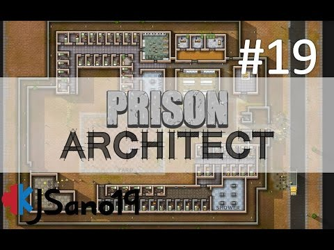 Prison Architect - Episode 19 - Dirty Offshore Business