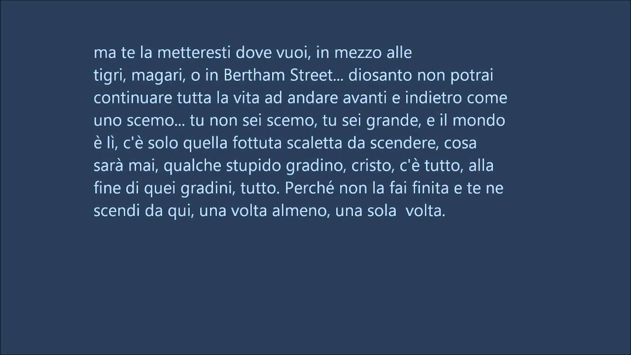 Novecento Di Alessandro Baricco Youtube