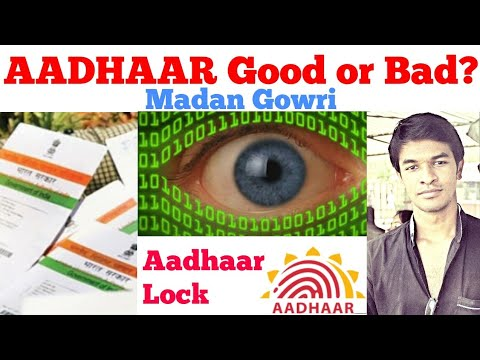 Aadhaar Good or Bad? | Tamil | Aadhar Lock | Madan Gowri | MG