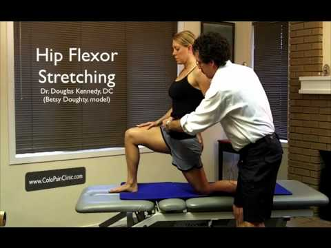 Back Pain - Psoas Stretch Demo - Kennedy Chiropractic - Boulder, CO