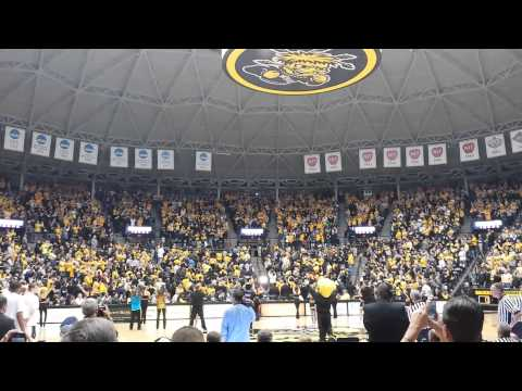 The Final Four Banner Unveiled at Koch Arena