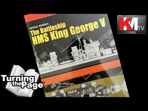Turning the Page: The Battleship HMS King George V - TopDR Wings #17 by Kagero