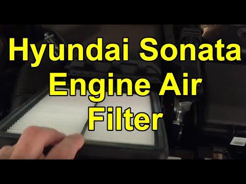 2015-2017 Hyundai Sonata – Easy DIY Engine Air Filter Replacement