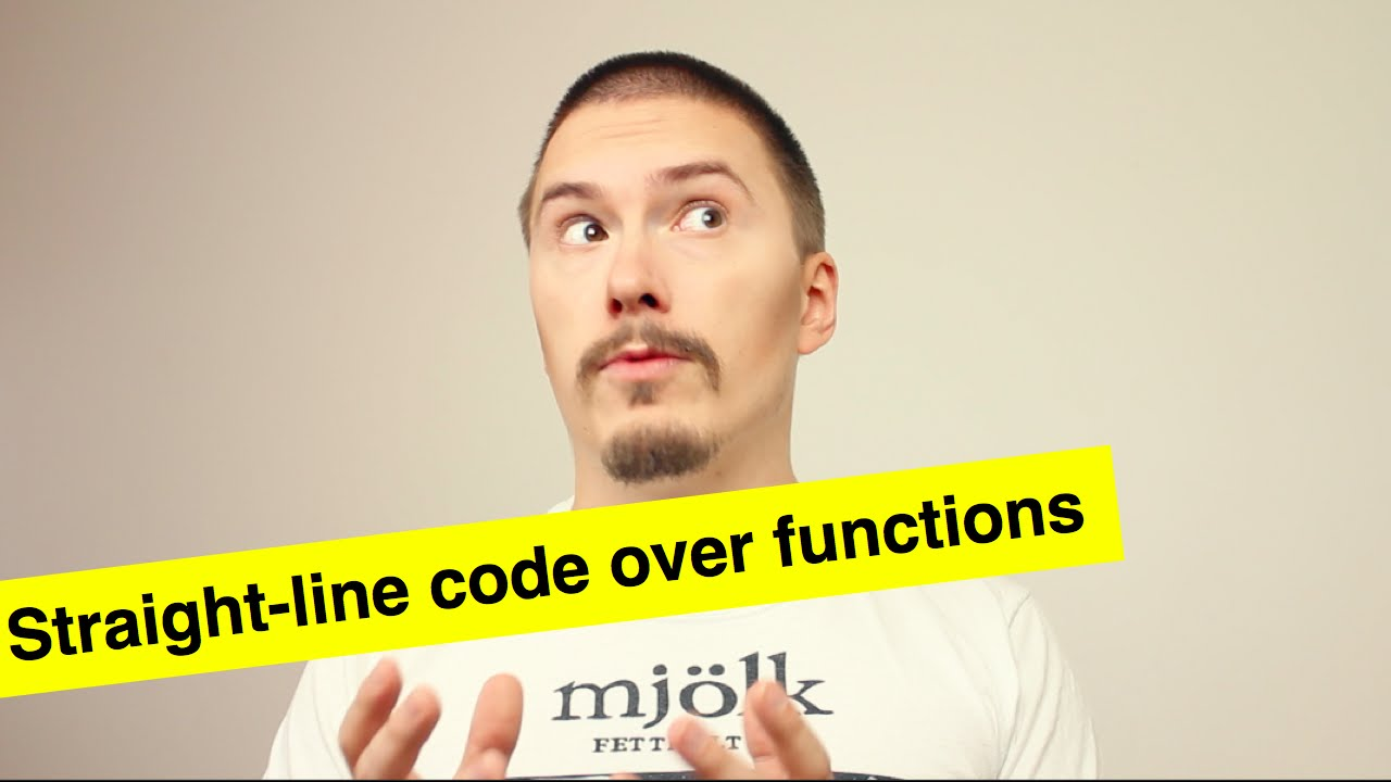 Straight-line code over functions - FunFunFunction #3