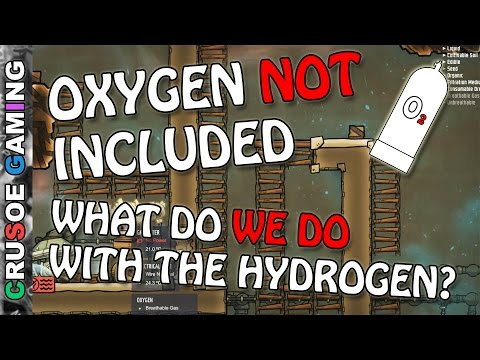 Oxygen Not Included - How Filter out Hydrogen - (ONI PC Walkthrough Series w/ Commentary) EP06