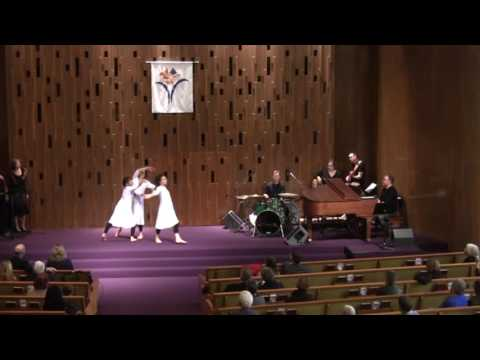 """Alexandria Davis and Erin McGaughan Sing """"Rise Up""""—Seattle Unity—11-06-2016"""