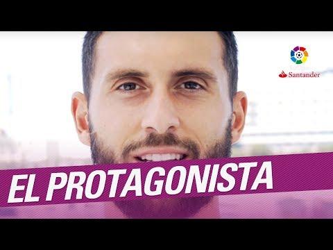 El Protagonista: Borja Bastón, jugador del Málaga CF