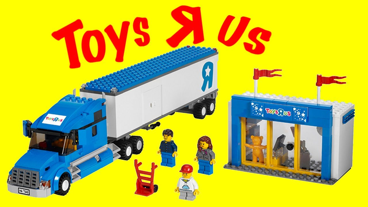 Lego 7848 Toys R Us Truck Lego City Review Brickqueen