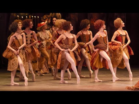 Getting in character: rehearsing the roles of Manon's courtesans (The Royal Ballet)