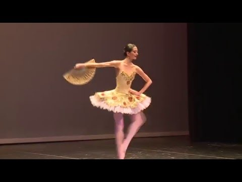 Hannah O'Neill as Kitri, Don Quixote Act 3 - Dubai Ballet Grand Gala 2016