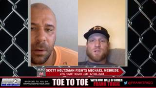 Frank Trigg Interviews UFC Nashville's Scott Holtzman