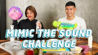 MIMIC THE SOUND CHALLENGE WITH MELAI CANTIVEROS FRANCISCO (@Melason Official Youtube) | Enchong Dee