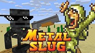 Download Monster School : METAL SLUG CHALLENGE - Minecraft Animation Mp3 and Videos