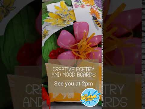 Creative Poetry and Mood Boards