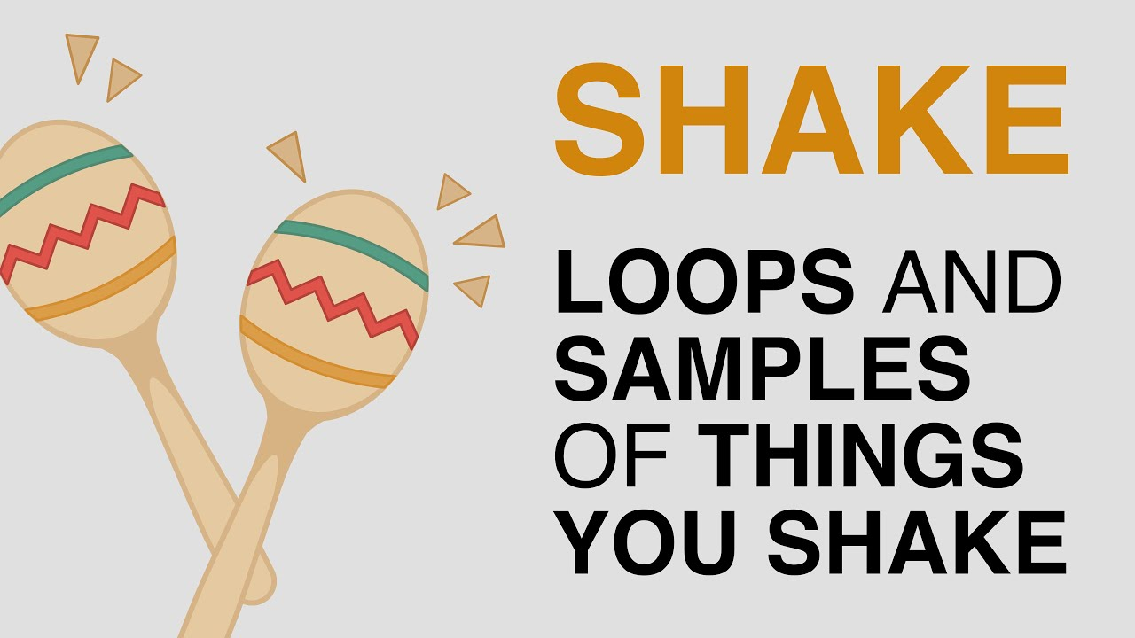 SHAKE Sample Pack (Free Download) Audio Demo