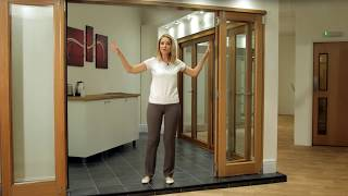 Vufold Inspire Internal Room Divider Doors Range