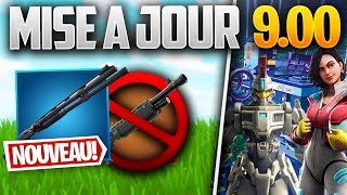 UPDATE SAISON 9: NEW POMPE, SPAS 12 SUPPRIMED - Other on FORTNITE! (Patch Note 9.00)