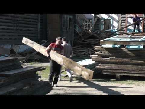 В селе Волчиха провели работы по разбору местной школы