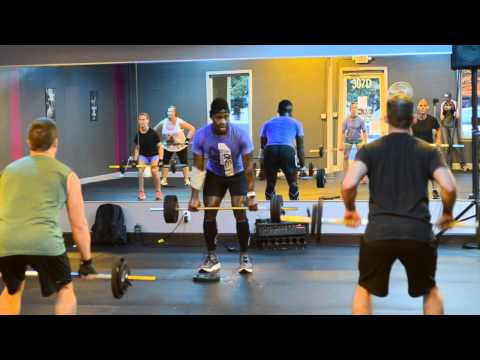 Grit Strength Class::  Instructor Lyle Haywood