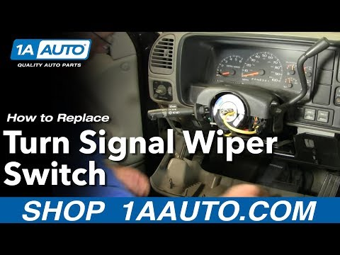 How To Replace Turn Signal Wiper Switch Chevy Suburban 88-98