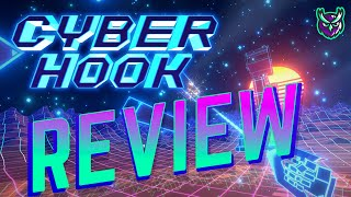 Cyber Hook Nintendo Switch Review-A Hooking Hard Parkour Game (Video Game Video Review)