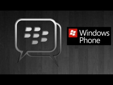 BBM Windows Phone New